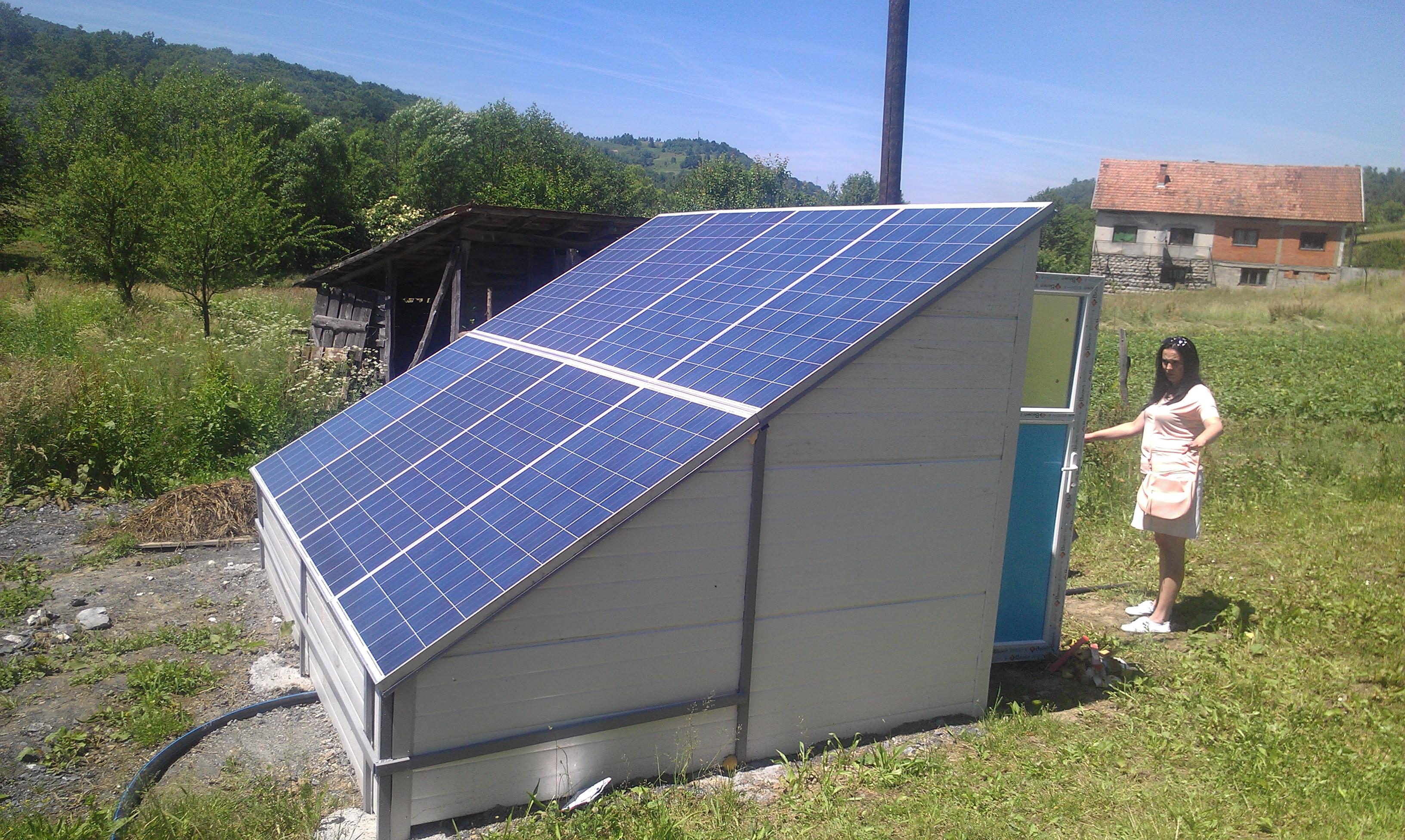 Solarne pumpe za navodnjavanje i vodu