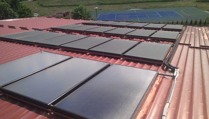 Solarno zagrijavanje bazena